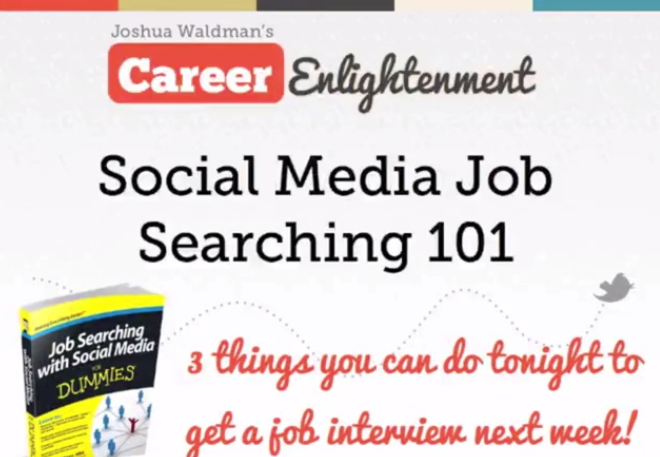 Social Media Job Searching 101