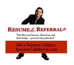 Resume to Referal