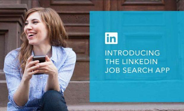 LinkedIn's New Job Search Mobile App