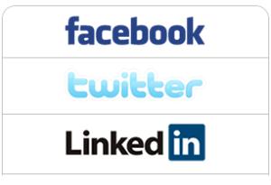 linkedin+facebook+twitter