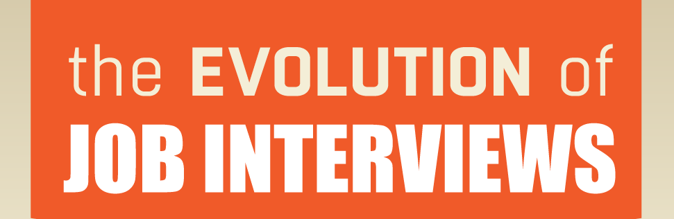 The Evolution of the Job Interview [Infographic]